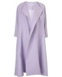 Manteau violet clair