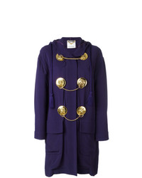 Manteau violet Moschino Vintage
