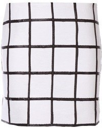 Minijupe blanche et noire original 3148683