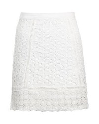 Minijupe blanche Miss Selfridge