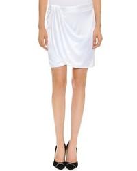Minijupe blanche Versace
