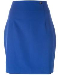 Minijupe bleue Versace