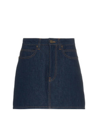 Minijupe en denim bleu marine Calvin Klein Jeans Est. 1978