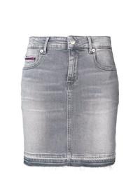 Minijupe en denim grise Tommy Jeans