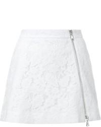 Minijupe en dentelle blanche GUILD PRIME