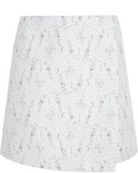Minijupe en tweed grise Calvin Klein