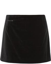 Minijupe en velours noire Marc Jacobs