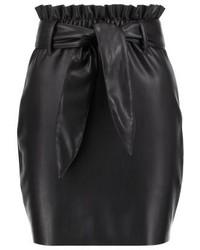 Minijupe noire Miss Selfridge