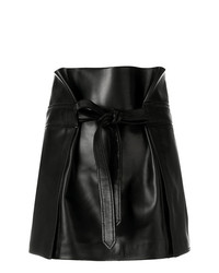 Minijupe noire Saint Laurent