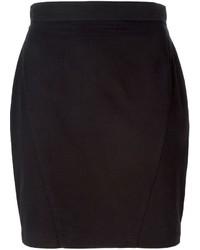 Minijupe noire Thierry Mugler