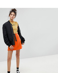 Minijupe orange Reclaimed Vintage