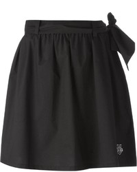 Minijupe plissée noire Love Moschino