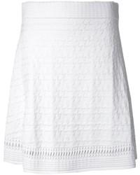 Minijupe texturée blanche Opening Ceremony