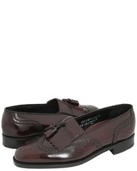Mocassins a pampilles bordeaux original 2569119