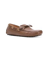 Mocassins en cuir marron Car Shoe