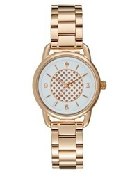 Montre á pois dorée kate spade new york