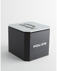 Montre argenté Police