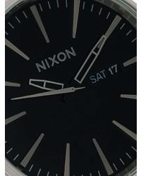 Montre argentée Nixon