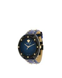 Montre bleu marine Versace