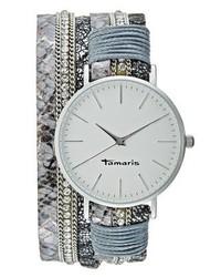 Montre bleue claire Tamaris