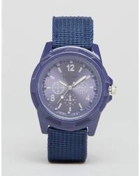Montre bleue Reclaimed Vintage