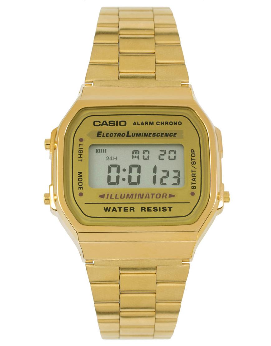 Montre dorée Casio