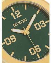 Montre dorée Nixon