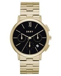 Montre dorée DKNY