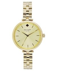 Montre dorée kate spade new york