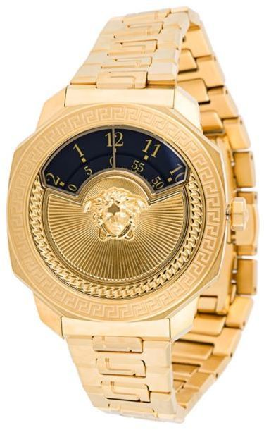 Montre dorée Versace