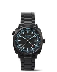 Montre en céramique noire Bamford Watch Department