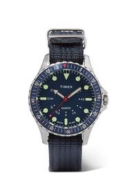 Montre en toile bleu marine Timex