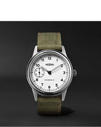 Montre en toile olive Weiss