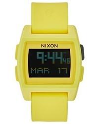 Montre jaune Nixon
