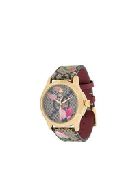 Montre marron clair Gucci