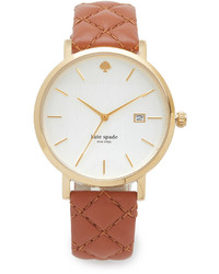 Montre marron clair Kate Spade