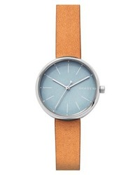 Montre orange Skagen