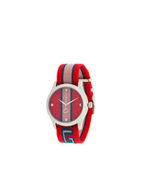 Montre rouge Gucci