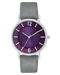 Montre violette Anna Field