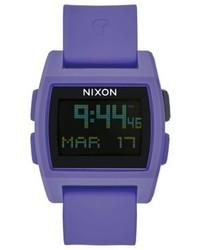Montre violette Nixon