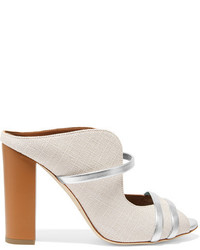 Mules blanches Malone Souliers