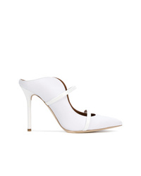 Mules en cuir blanches Malone Souliers