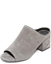 Mules en daim grises 3.1 Phillip Lim