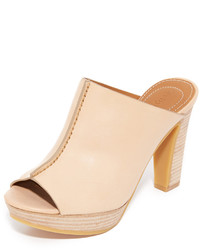 Mules marron clair See by Chloe