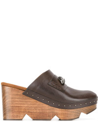 Mules marron Stella McCartney