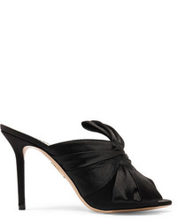 Mules noires Charlotte Olympia