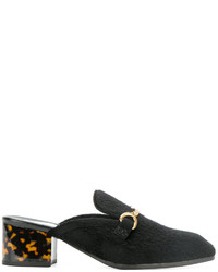 Mules noires Stella McCartney
