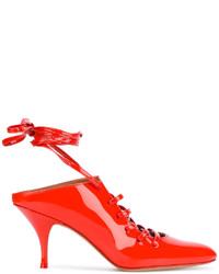 Mules rouges Givenchy