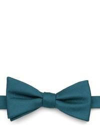 Nœud papillon bleu canard