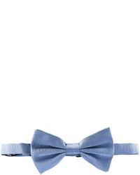 Nœud papillon en soie bleu clair Dolce & Gabbana